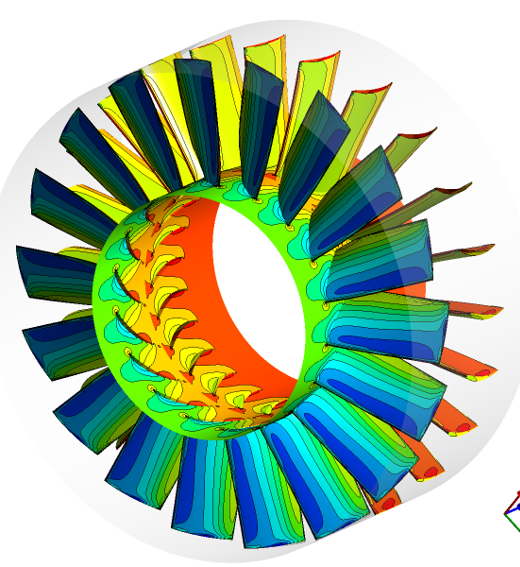 Simulation of a Fan